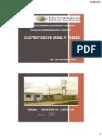 Electrificación Rural y Urbana 1