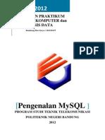 Laporan Praktikum Mysql