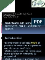 Conectandolosnuevoscreyentesconelcuerpodecristo Procesodeasimilacion Introduccion 091113151708 Phpapp02(2)