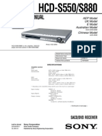 Sony Hcd-s550,s880