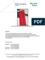 LBD Maxi Skirt Pattern FULL