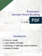 Pranayama - Alternate Nostril Breathing