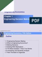 Engineering Decision Making