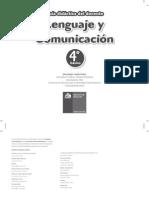 Lenguaje y Comunicación - 4° Básico (GDD)