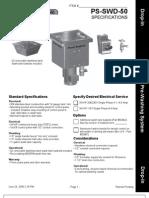 PS SWD 50 Spec Sheet