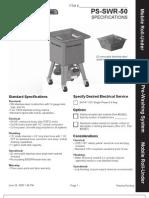 PS SWR 50 Spec Sheet