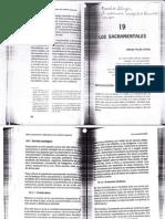 manual de liturgia, Los Sacramentales