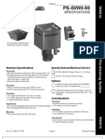 PS SWW 50 Spec Sheet