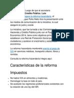 Reforma Hacendaria 2