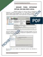 Manual de Integracion Maquina Virtual a Red Fisica