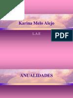 Presentación de Karina Melo Alejo