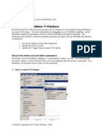 How to Secure Your Filemaker Database File