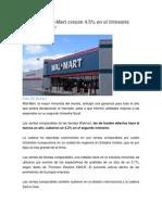 Articulo Ventas de Walmart