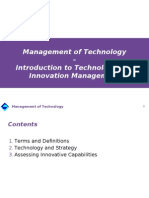 2 Intro to Technology Management