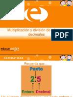 Power Point Multiplicacion y Division Decimales