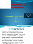 Concern for India Due to Environmental Changes That Are Occuring in the Country and the Globe