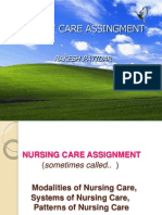 Methods of Nursing Assignment