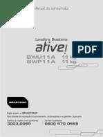 Brastemp Manual Bwu11a