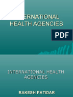 International Health Agencies
