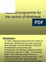 Blindness Program