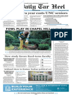 The Daily Tar Heel for September 12, 2013