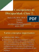 UvalleDiscNuevas Concepciones de Discapacidad