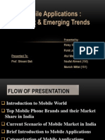 India-Current Trends in Mobile Apps