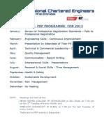 PRP Programme 2013