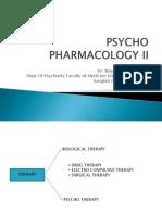 Psycho Pharmacology II 13 Juni
