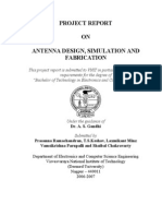 Antenna Design, Simulation