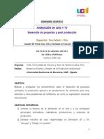 SeminarioAnimacionCineTVUcal