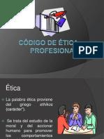 Codigo de Etica Prof.