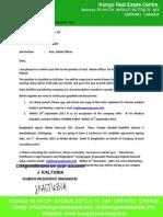 Offer Letter for Poland