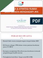 Kesiapan & Strategi Rumah Sakit Swasta Menghadapi Jkn