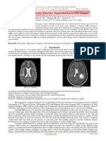 A Review on Brain Disorder Segmentation in MR Images