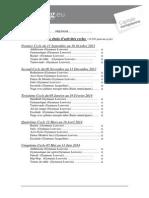 Ems Inscription Cycles 2013 2014