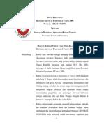 Anggaran Dasar dan Anggaran Rumah Tangga Kongres Advokat Indonesia