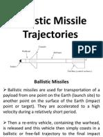 Ballistic Missile Trajectories