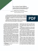 1. Fragmentation of Soybean Trypsin Inhibitor (Kunitz)