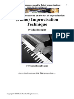 Improvisation Jazz Music Theory Harmony Piano Techniques Chords Scales(2)