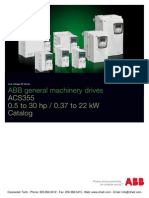 Abb Acs355 Technical Cataloge