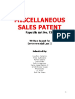 MISCELLANEOUS SALES PATENT - Written Report.docx