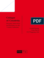 Critique of Creativity: