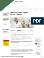 2_Empanadas criollas llegan a Discovery - Noticias de Economía - ELTIEMPO