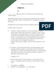 Seminar- Benchpress Notes