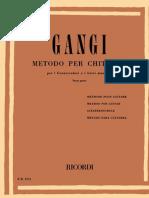 Mario Gangi - Metodo Per Chitarra - Terza Parte (Guitar Method, Third Part, 22 Studies)