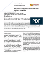 Comp Gabor Fisher Classif and Phase-based Gabor