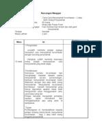 Rancangan Mengajar-Menyelamat  Asas Tahap 3b (KAPA 4.1.6/10)