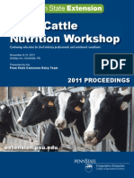 Nutrition Workshop Proceedings 2011