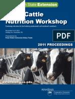 Nutrition Workshop Proceedings 2011
